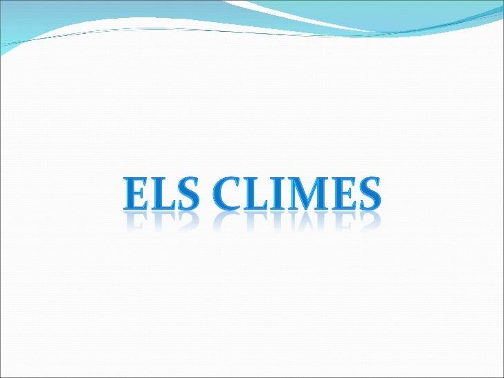 Climes