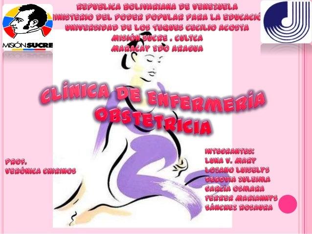 VALORACION DE ENFEREMERIA DE LA EMBARAZADA Cuidados Prenatales: cada vez son mas las mujeres que reconocenal necesidad de...