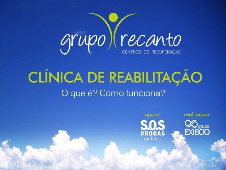 Clínica de ReabilitaçãoInstituição que proporciona acolhimentoestruturado e local seguro para tratar adependência química,...