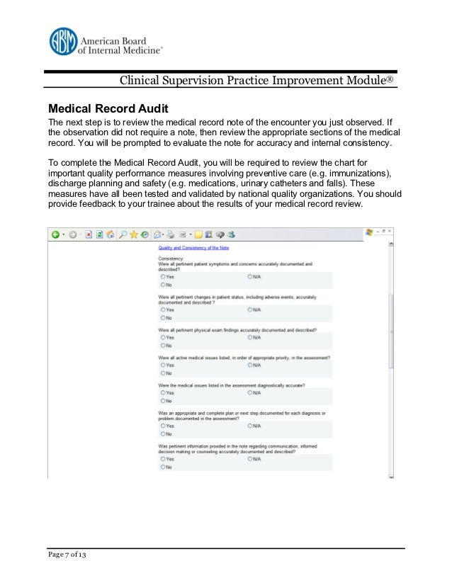 Medical Chart Review Review The Medical Record