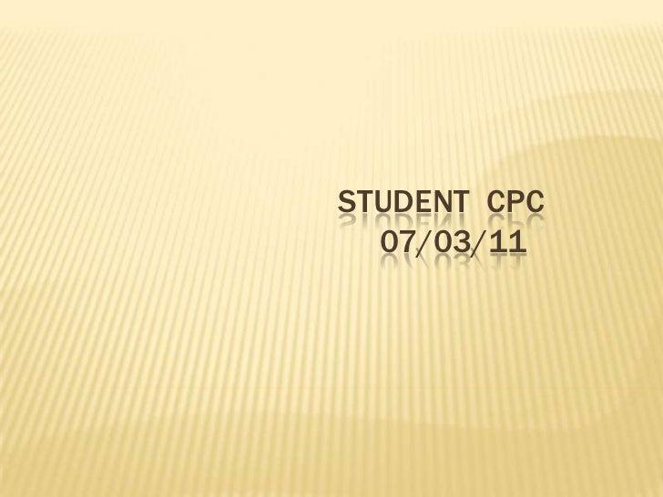 Clinical  07 03-2011