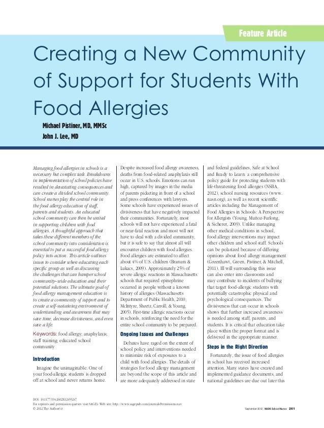 Understanding Common Food Allergies