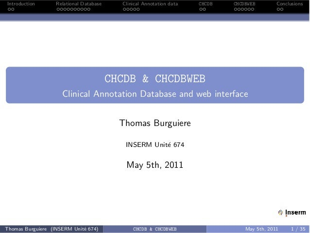 Clinical data eav