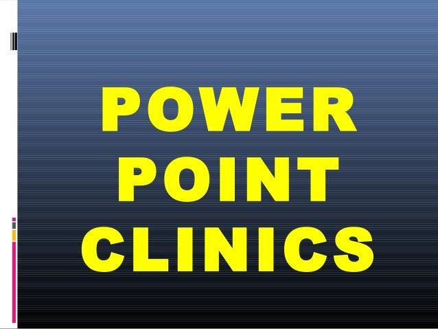 POWER POINTCLINICS