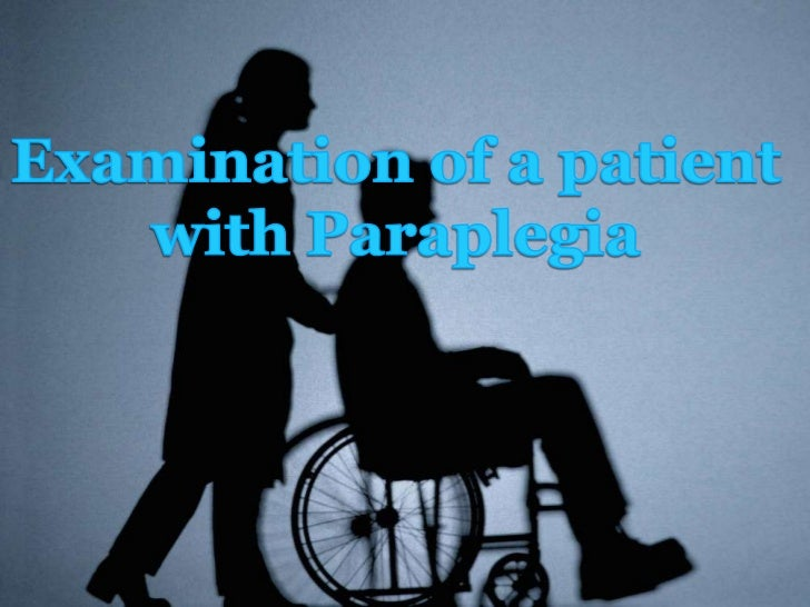 Paraplegia is an impairment in motor orsensory function of the lower extremities