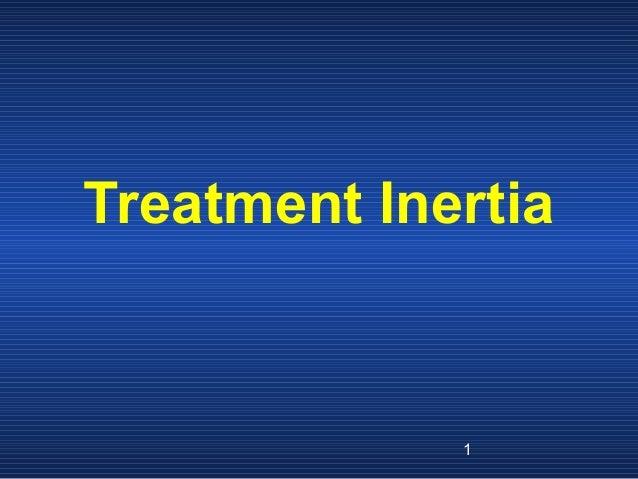 Clinical inertia short