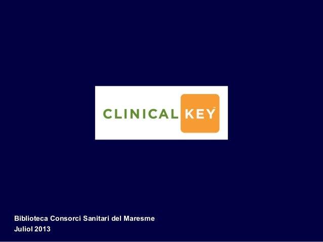Clinical key lab
