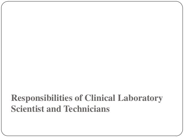 the role of a medical lab technician is critical Our associate's degree in medical laboratory technology program is accredited  by the  background checks, essential functions, and certification are provided.
