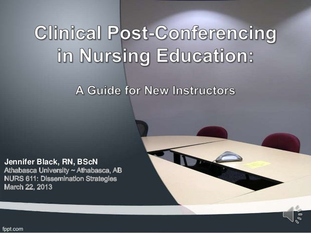 Clinical post conference - lay audience presentation - vo