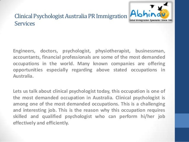 how to become a clinical psychologist in australia