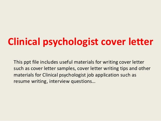 Clinical Psychology topic to write essay