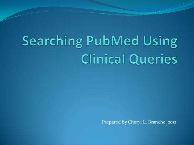 Clinical queries version 5