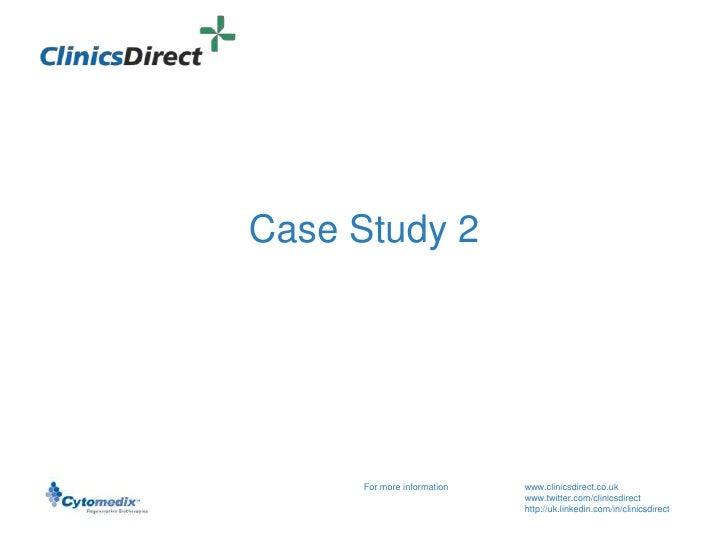 Clinics Direct Case 2