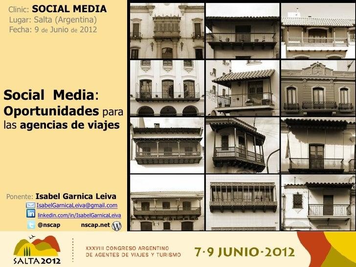 Social Media: Oportunidades para las agencias de viajes