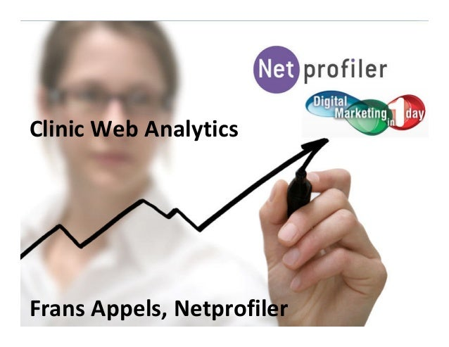Clinic Web Analytics Frans Appels, Netprofiler