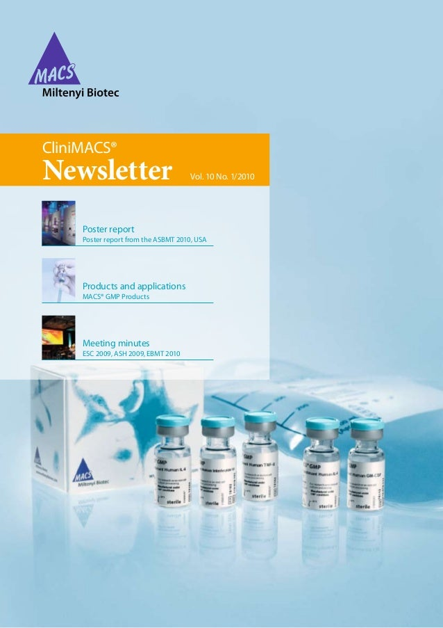 Clinimacs Newsletter 2010