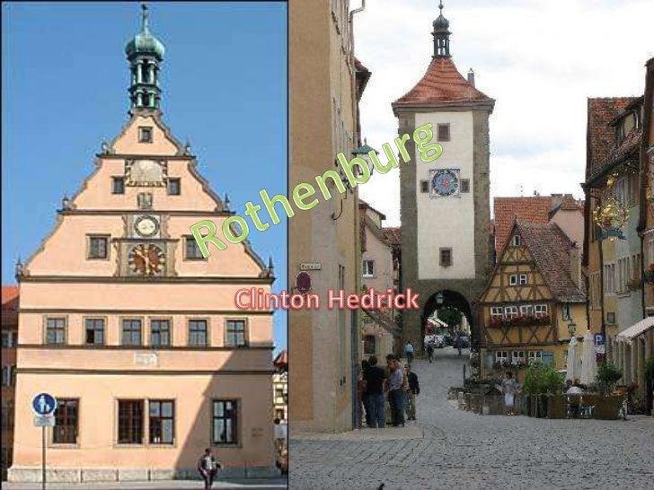 Clinton Hedrick<br />Rothenburg<br />
