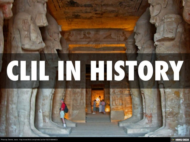 Clil In History