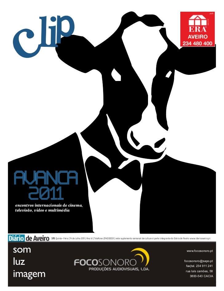 encontros internacionais de cinema,televisão, video e multimédia                  370 Quinta-Feira | 14 de Julho 2011 | An...