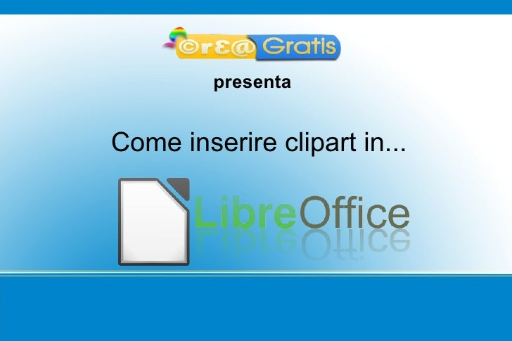 Clipart in LibreOffice