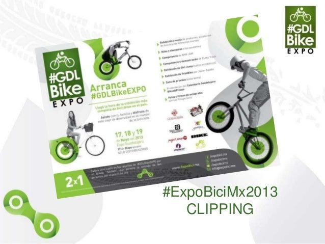 #ExpoBiciMx2013 Clipping