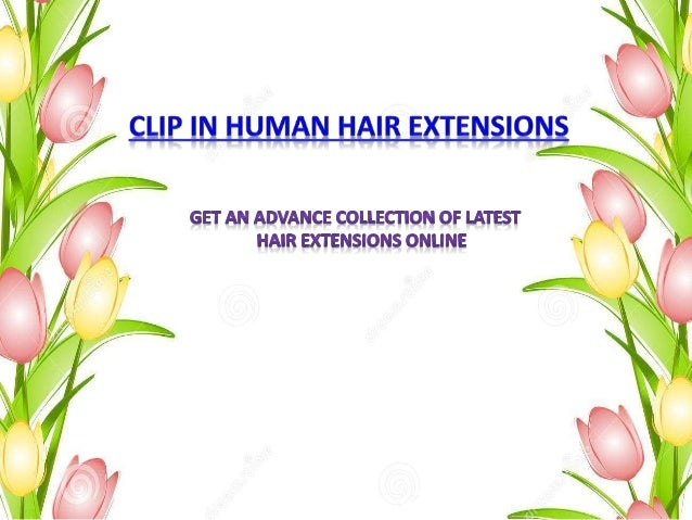 Clip in human hair extensions usa