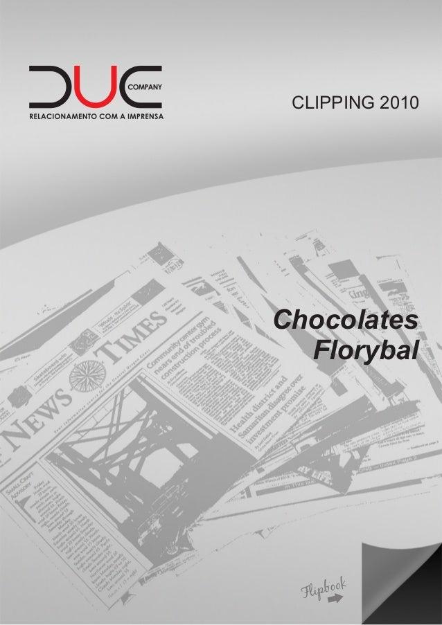 CLIPPING 2010 Chocolates Florybal