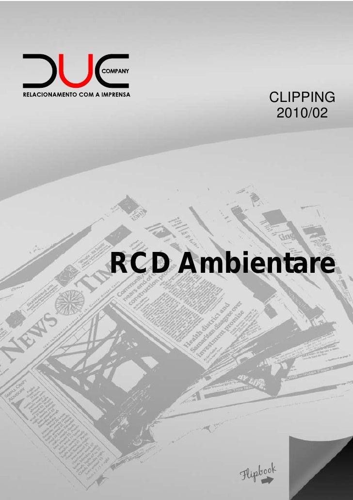 CLIPPING          2010/02RCD Ambientare
