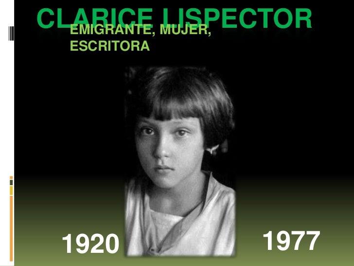 Clirun, Clarice Lispector para el taller literario de Irún