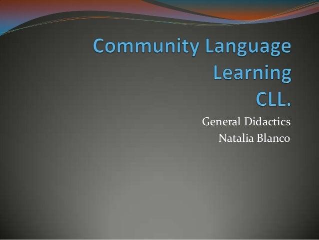 General Didactics Natalia Blanco