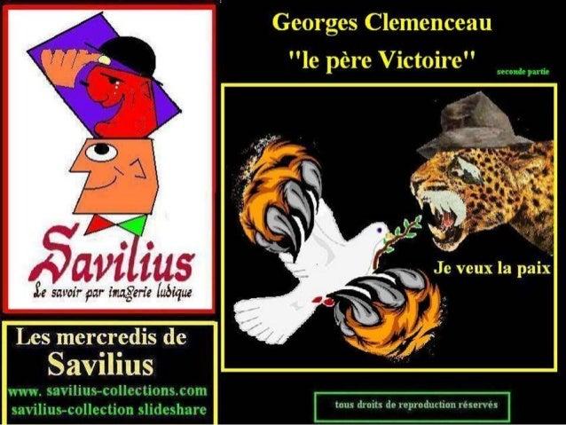 Georges Clemenceau, le père victoire