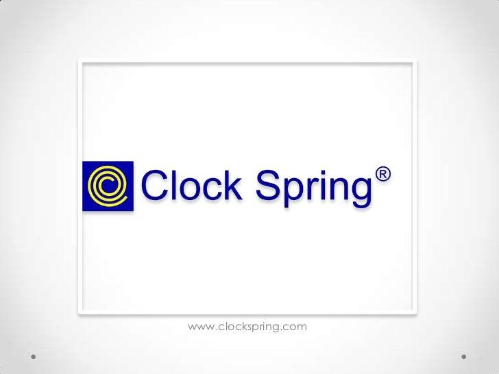 Clock Spring Intro