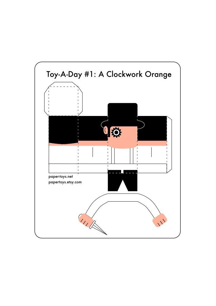 Laranja Mecânica - Toy Paper