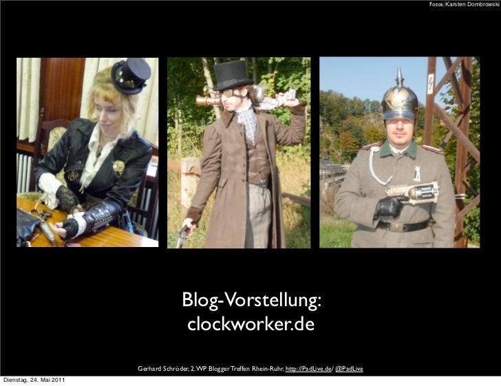 Fotos: Karsten Dombrowski                                        Blog-Vorstellung:                                        ...