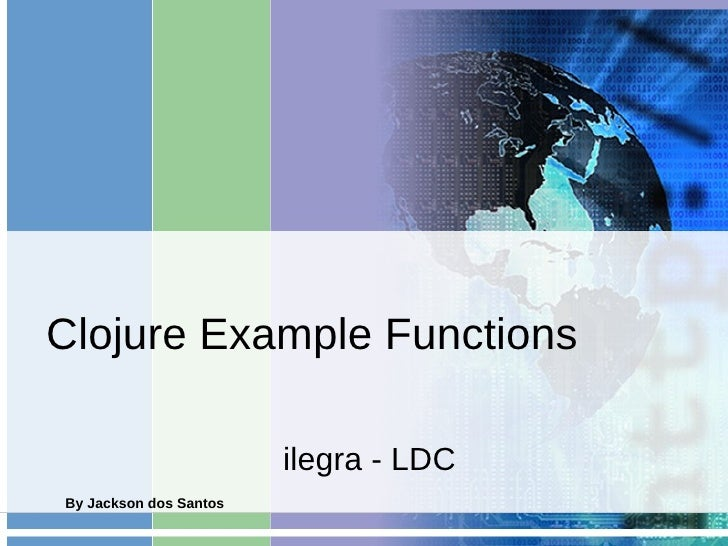 Clojure functions