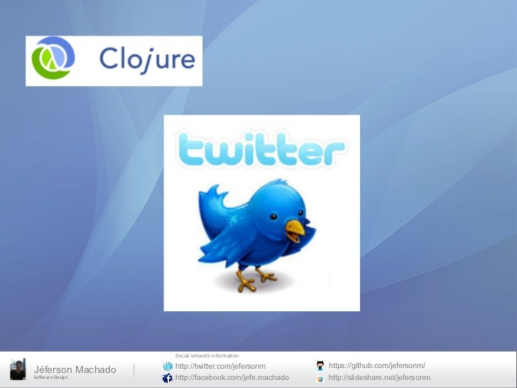Clojure twitter