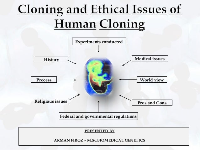 the question of whether or not human cloning is ethical A new stem cell discovery won't lead directly to human cloning, but it may be time to talk ethics.