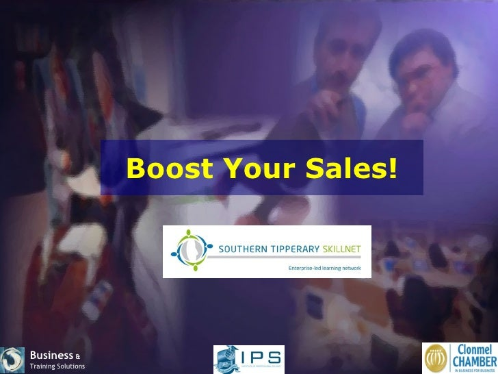 Clonmel Chamber Boost Your Sales Workshop