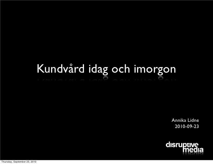 Close chefsnätverk Kundvård 23 september