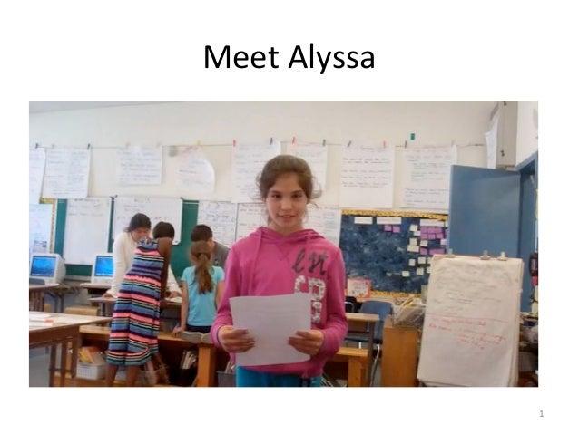 Meet Alyssa 1