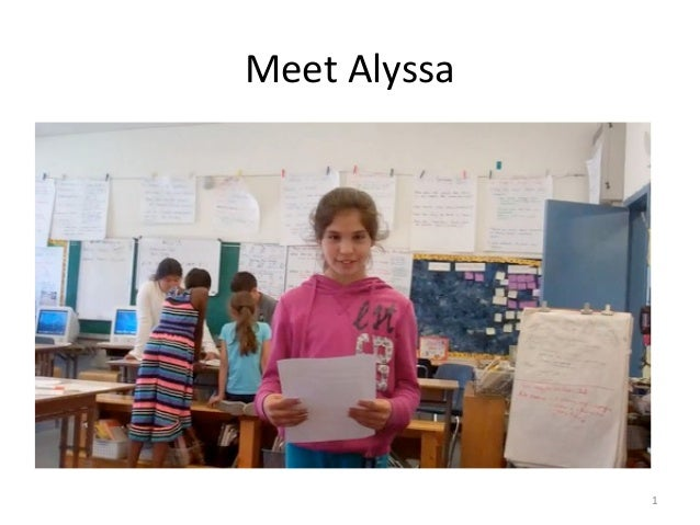 Meet Alyssa 1