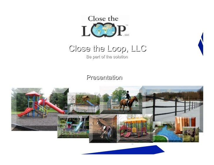Close the Loop ~ Recycled Products