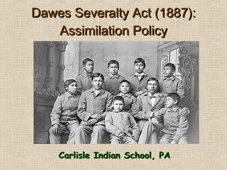 dawes severalty act 1887 essay Free dawes papers, essays you may also sort these by color rating or essay length title length color rating : dawes severalty act (1887) - dawes severalty act.