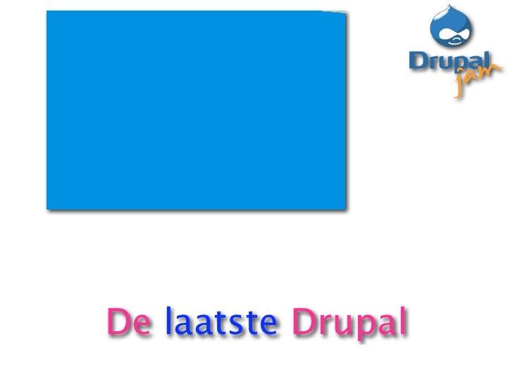 Closing talk DrupalJam 6