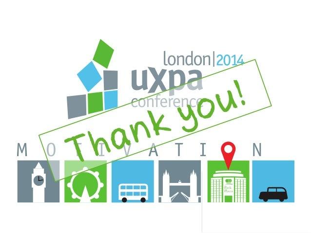 UXPA 2014 Closing announcements