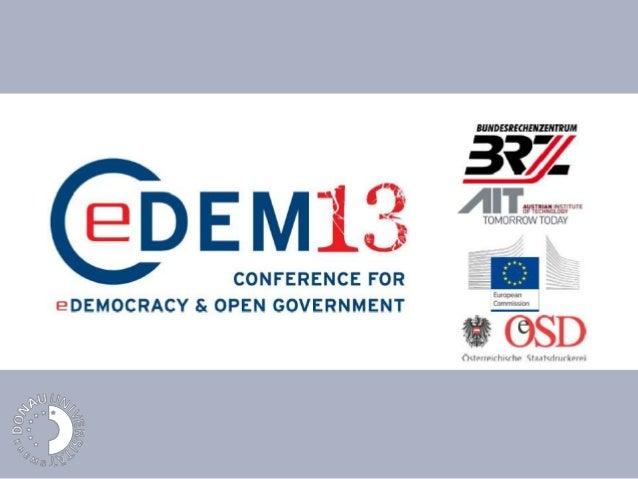 Closing CeDem13