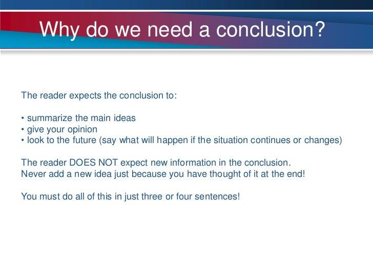 I need a conclusion!!!!!!!?