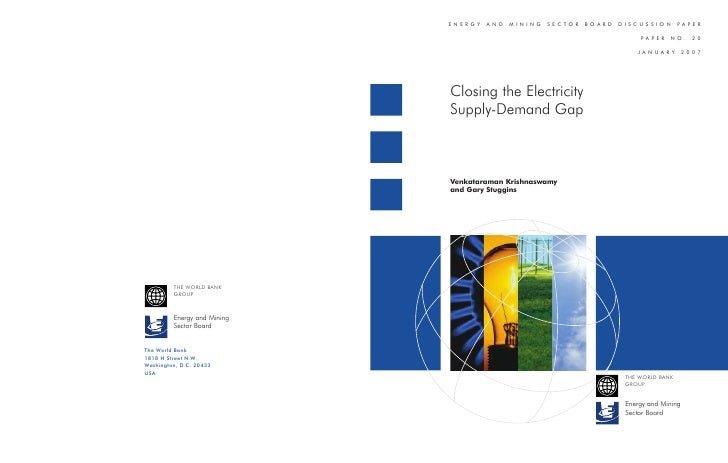 ENERGY   AND   MINING   SECTOR   BOARD   DISCUSSION        PAPER                                                PAPER    N...