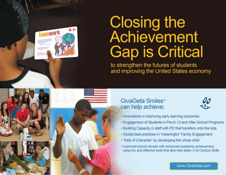 Closing the Achievement Gap GivaGeta presentation