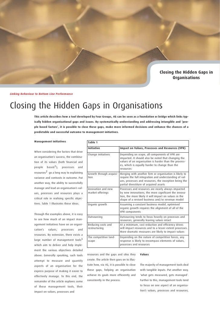 Closing the Hidden Gaps in                                                                                                ...